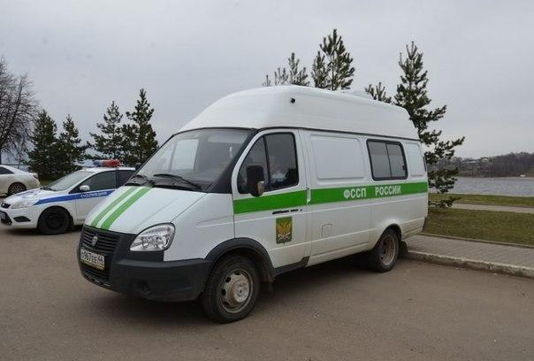 В Костроме должников по транспортному налогу караулят на улицах с чудо