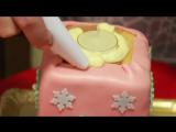 Ну, оОчень вкусный - Новогодний Торт Свеча!