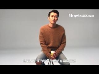 Hyun Bin's interview: ESQUIRE Hong Kong March 2017 edition