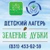 ДОЛ «Зелёные дубки» | МАУ МЦ «Надежда»