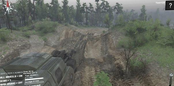 Карта «Level-Placer» для Spintires - Скриншот 1