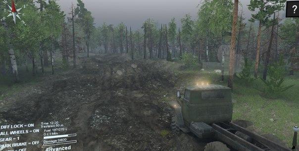 Карта «Level-Placer» для Spintires - Скриншот 3