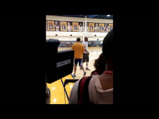 Sights & Sounds from Warriors practice