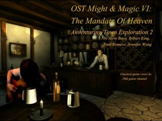 OST Might and Magic VI: The Mandate Of Heaven - Adventuring, Town Exploration 2 (Classical guitar)