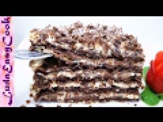 Вкусный Шоколадный Торт Наполеон - Russian Napoleon CHOCOLATE Mille-feuille cake - BÁNH NAPOLEON