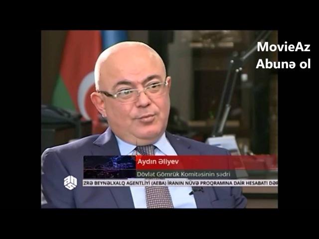 Mirşahin Aydin Əliyev hesabat Dövlət Gömrük Komitəsinin sədri
