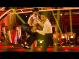 Peter Andre &amp Janette Manrara Charleston to 'Do Your Thing' - Strictly Come Dancing 2015