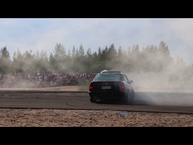 Bimmerparty 2016 Burnis BMW E34 540i Turbo