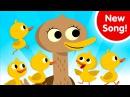 Five Little Ducks | Kids Songs | Super Simple Songs