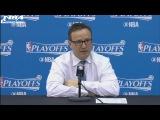 Scott Brooks Postgame Interview | Hawks vs Wizards | Game 5 | April 26, 2017 | NBA Playoffs