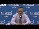Scott Brooks Postgame Interview | Hawks vs Wizards | Game 2 | April 19, 2017 | NBA Playoffs