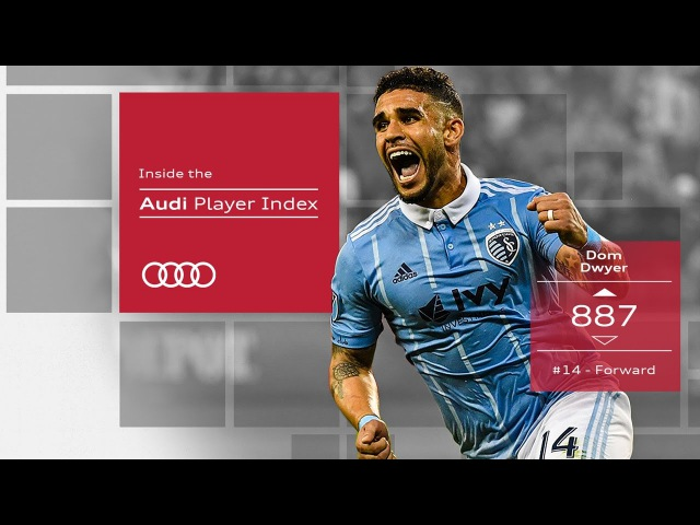 Dom Dwyer's hard fought performance earns 3 for SKC | Audi Player Index
