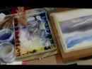 Peinture sous vos yeux avec Dominique Darras : comment peindre un ciel à l'aquarelle ?