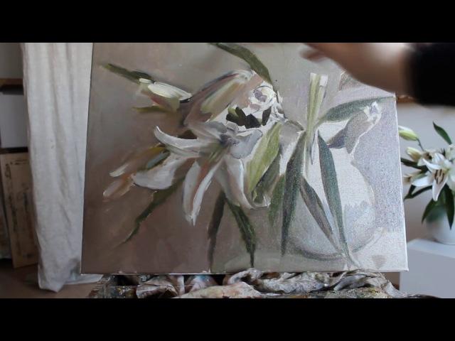 Белые лилии. Краткий видеокурс.