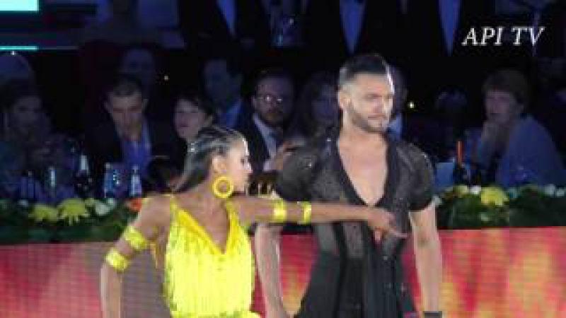 Stefano de Filippo Daria Chesnokova - World Pro Latin Final- Moscow Kremlin 2016