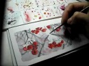 Как нарисовать снег акварелью watercolor Aquarell