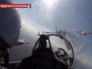 Стрижи и Русские витязи на Параде Победы видео из кабины