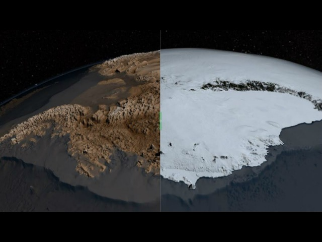 Fascinating NASA map shows Antarctica Ice-Free: Evidence of Human occupation?