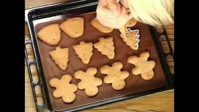 Прянично шоколадное печенье на новогоднюю елку Александр Селезнев Сладкие истории