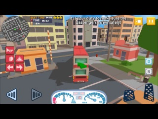 Bus Simulator City Craft 2016