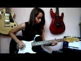 Give It Away - Red Hot Chili Peppers (Guitar Cover by. Debora Almeida)