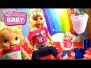 Пупсик Беби Бон Отравилась Какает в горшок девочка играет в дочки матери Кукла 20...