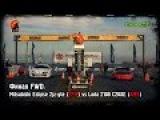 Финал FWD Mitsubishi Eclipse 2jz-gte (FPM) vs Lada 2108 C20XE (AMS)