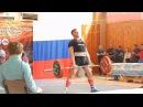 5 июня 2016. Белов Алексей. 3 подход. Тяга 195 кг, в зачет, с.в. 90,40 кг