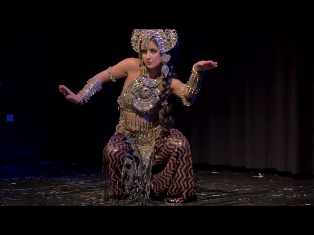 Kira Lebedeva aka Habibi Lal @ TribalFestion: Vienna International Dance Event 2016