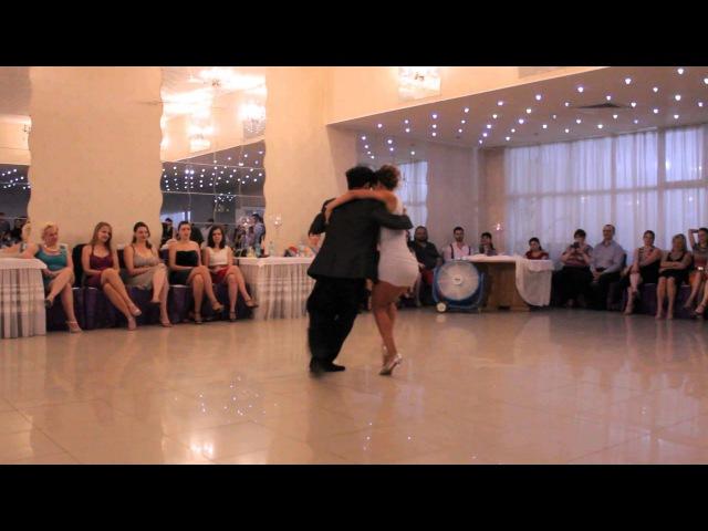 Rodrigo Fuentes Solange Chapperon Transylvania Tango Festival
