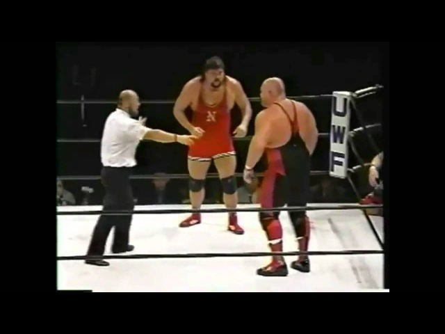 Bushido Albright and Yamazaki VS Vader and Big John Part 2