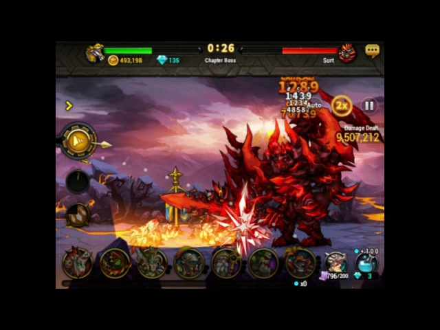 Seven Guardians farm Boss Chapter 6 Ungoliant Garm Surt