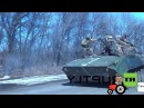 Tactical retreat Ukrainian troops from Debaltsevo