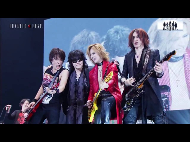 Siam Shade 2015 X Japan Luna Sea