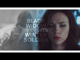 black widow &amp winter soldier  we all are living in a dream