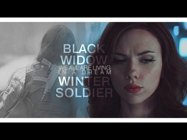 Black widow winter soldier   we all are living in a dream