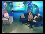 Здоровье (Первый канал, 22.03.2003) Телеведущий Николай Дроздов и народная артистка Молдавии Надежда Чепрага