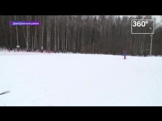 Лыжня России 2017, телеканал 360
