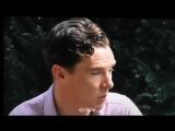 Benedict Cumberbatch talking about his own little garden