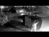 Пьяная авария, помощь водителю выбраться из авто, Айова, США