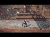 [www.VDyoutube.com]-NieR- Automata - Live Gameplay Demo Footage