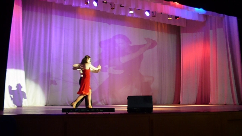 Т.к.Зимний сад-Шуточное танго-С.Кириленко и Е.Дмитриева-видео