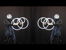 Closed Circles Performance in a Three Faced Suit (by Shao - Buugeng Manipulations)