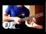 Niccolo Paganini Caprice № 24 on Electric Guitar - tutorial Паганини - Каприс No 24 обучалка