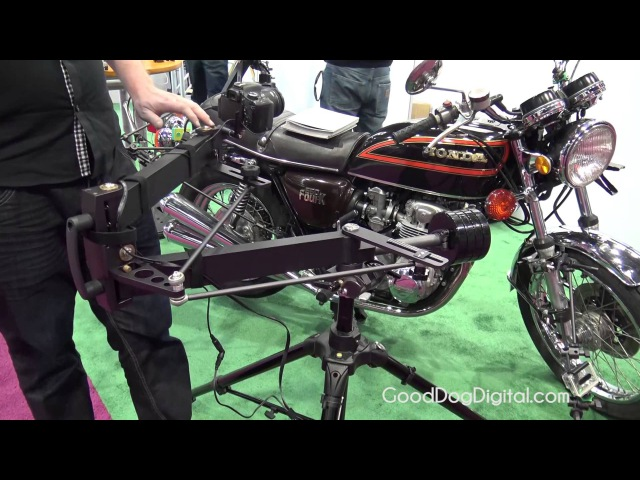 NAB 2015 9 Solutions C Pan Camera Guide Arm