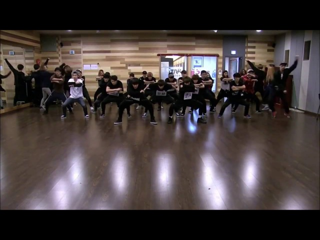 BTS 'SBS Performance Dance Practice' Mirrored (Cut)