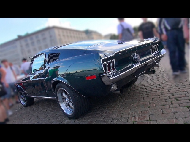 ANOTHER 68 BULLITT Mustang GT-390 Fastback!! - Awesome Startup and V8 Sound!