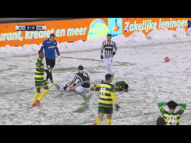 Samenvatting van de wedstrijd Achilles'29 - Fortuna Sittard