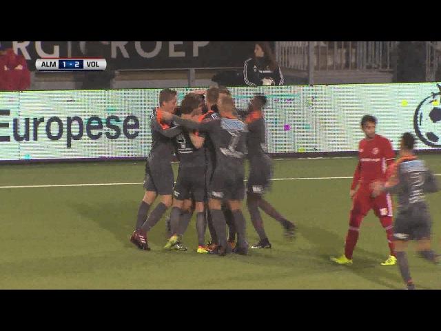 Samenvatting van de wedstrijd Almere City FC - FC Volendam