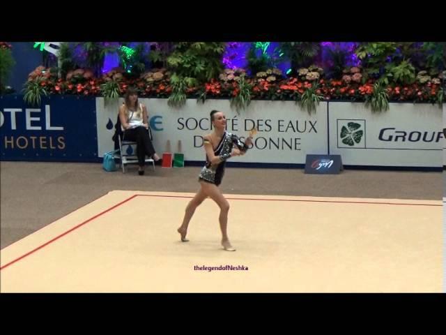 Anna RIZATDINOVA (UKR) clubs - 2016 Corbeil AA